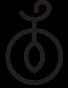 kardamo logo icon black